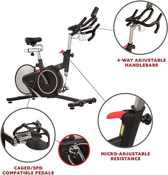 Sunny Health & Fitness SF-B1709 - Correa magnética para Bicicleta ...