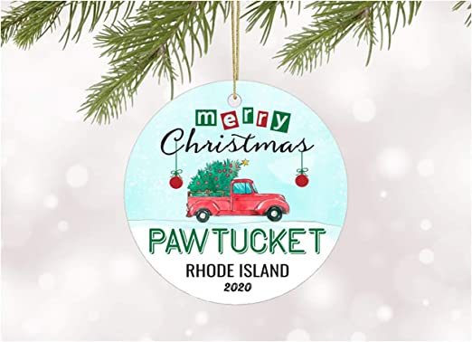 Will We Have A White Christmas In 2020 Rhode Island Amazon.com: Decoration Ornament Tree Merry Christmas 2020