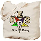 CafePress - Alll in the Family ToteBag - Natural Canvas Tote Bag, Cloth Shopping Bag