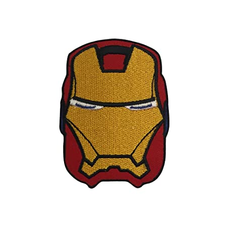 edf25bada3a7 Real Empire Ironman Embroidered Iron On Sew On Logo Badge Patch DC Comics Fancy  Dress(409)  Amazon.co.uk  Kitchen   Home