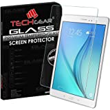TECHGEAR® Samsung Galaxy Tab A 9.7 Inch (SM-T550 Series) GLASS Edition Genuine Tempered Glass Screen Protector Guard Cover