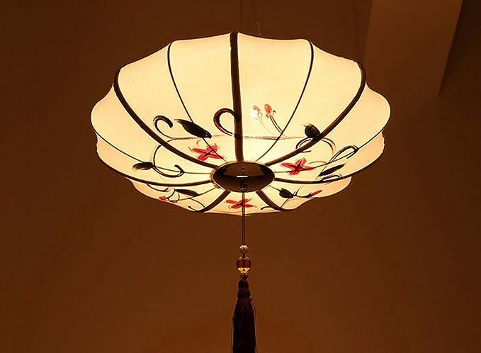 Lampadari Plafoniere Rosse : Il nuovo stile cinese retrò lampadario soggiorno sala ristorante