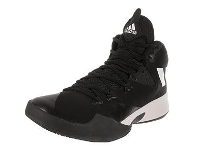 0b91ae93e708 ... spain adidas dual threat 2017 shoe mens basketball 8.5 core black white  grey c950d bf8f3