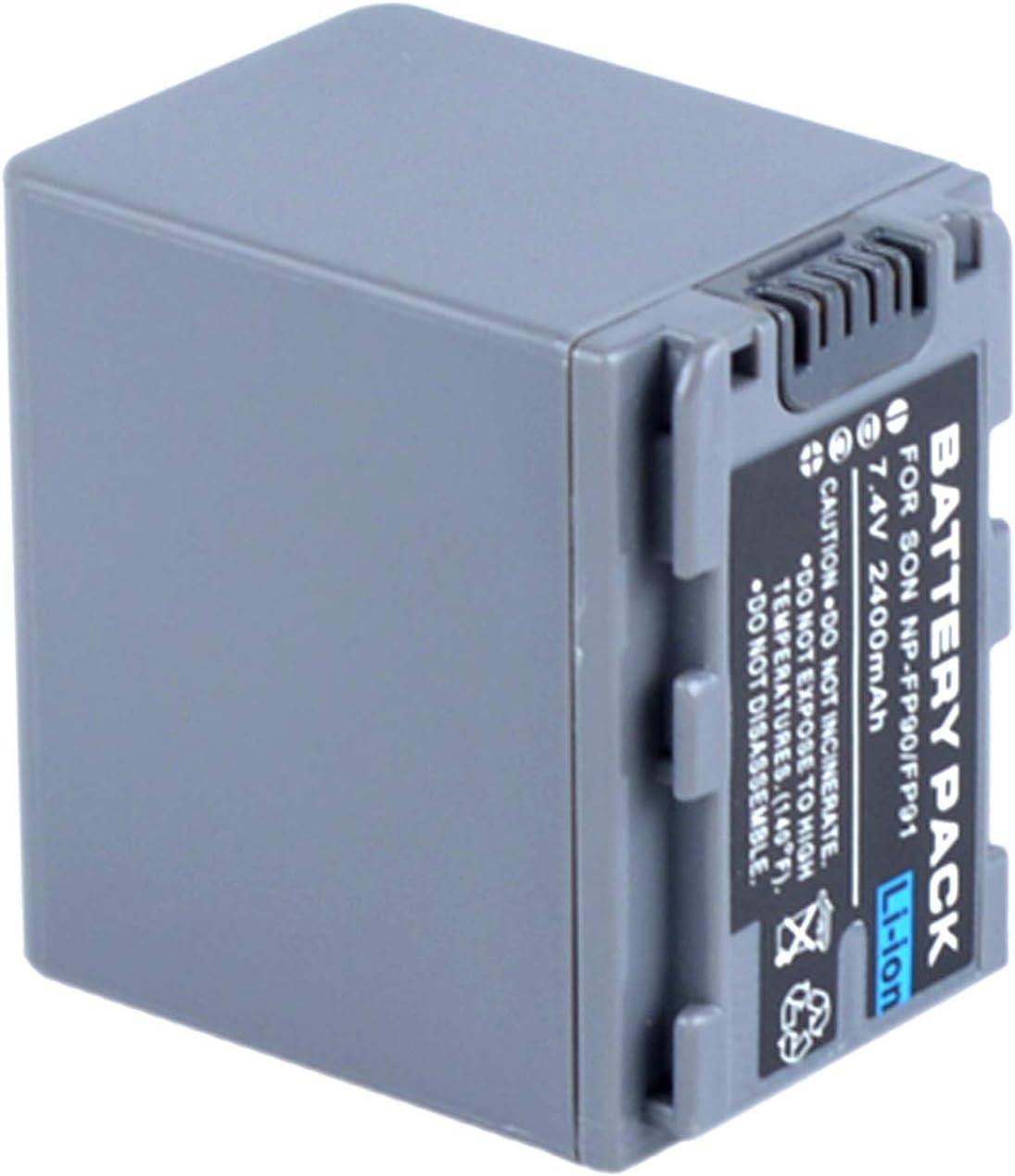 LCD Fast Battery Charger for Sony DCR-DVD605 DCR-DVD605E DCR-DVD653E Handycam Camcorder DCR-DVD653