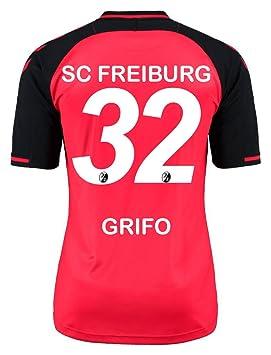 Hummel SC Freiburg Camiseta de fútbol Home 2016 2017 poliéster adultos Vincenzo grifo