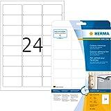 Herma 9532 - Etiquetas, 63.5 x 33.9 mm, color blanco