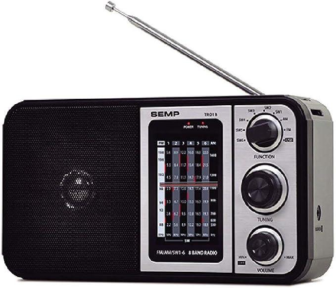 Rádio Portátil AM FM Semp TR01B com 10 Faixas por Semp Toshiba