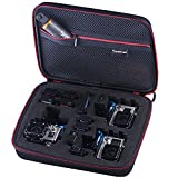 Smatree® SmaCase G260sw Carrying Case for Gopro Hero 5,4, 3+, 3, 2,1 (Camera and Accessories NOT included)-Black