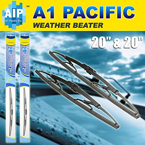 Metal Frame Windshield Wiper Blades J Hook Oem Quality Set Of 2 Wipers   20  20