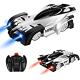 Maeffort Remote Control Car, Kid Toys for Boys Girls, Dual Mode 360°Rotating Stunt Wall Climbing Car with Remote Control, Head and Rear LED Lights, Girl and Boy Gifts