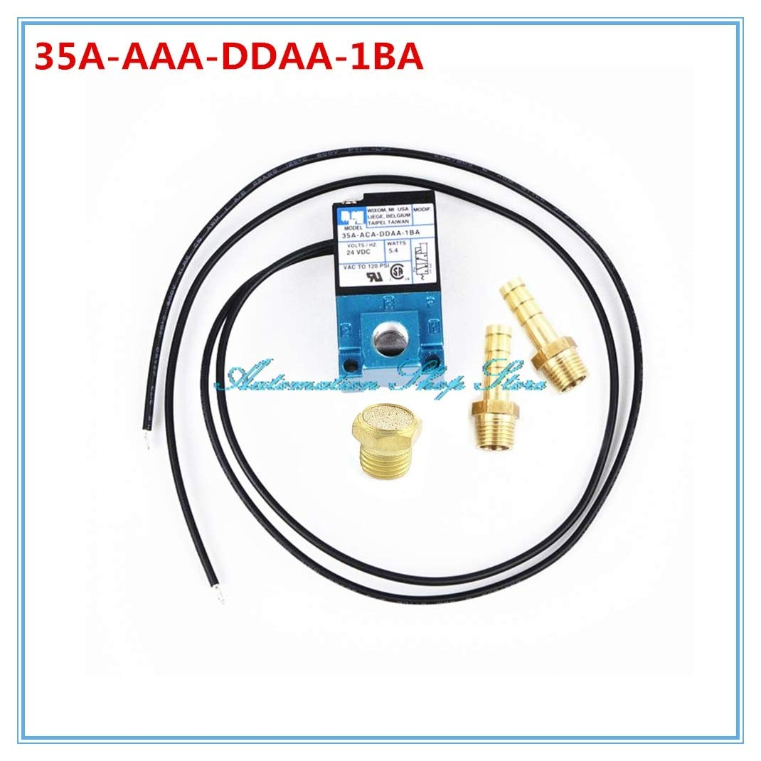 Ochoos MAC 3 Port Electronic Boost Control Solenoid Valve 35A-AAA-DDBA-1BA with Brass Silencer