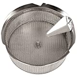 Tellier X5030 Stainless Steel 1/8'' (3 mm) Basket Sieve for 42574-37 Food Mill