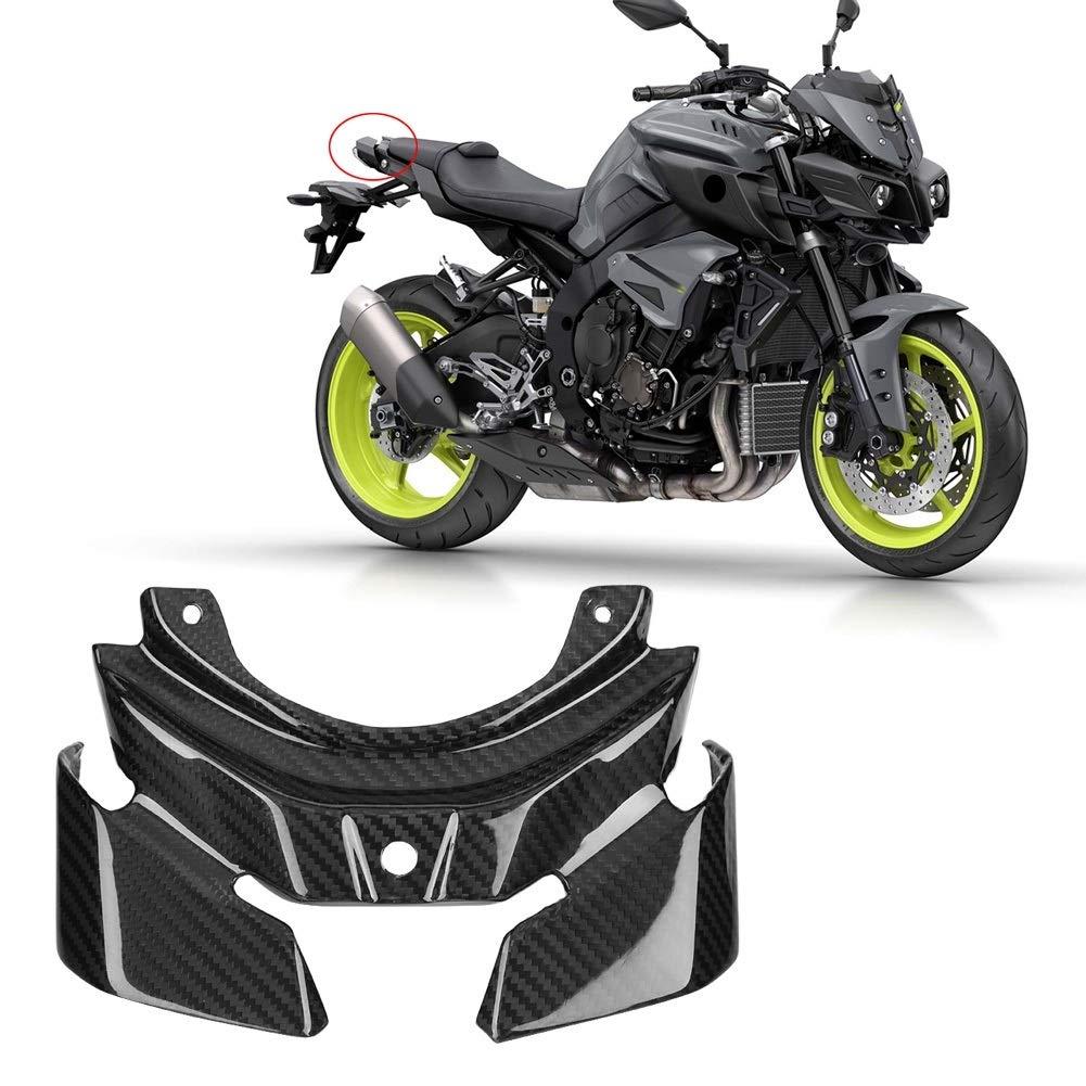 Dewin Motorrad-hintere R/ücklicht-Schutz-Motorrad-Zubeh/ör-Carbon-hintere R/ücklicht-Schutzabdeckung f/ür Yamaha MT-10 FZ-10 2016-2018