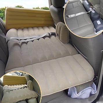 Aufblasbare Matratze Auto Luftbett+Pumpe Camping Luftmatratzen Für 2 Erwachsene