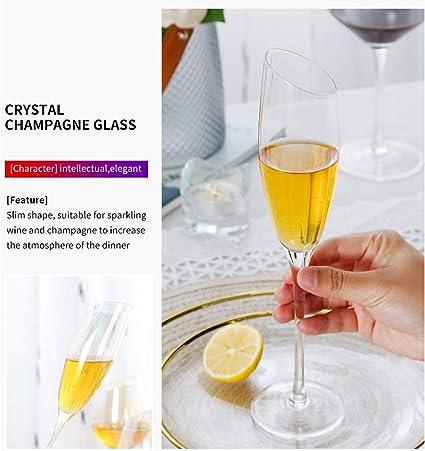 Boite de 6 fl/ûtes /à champagne 17 cl medium Table Passion