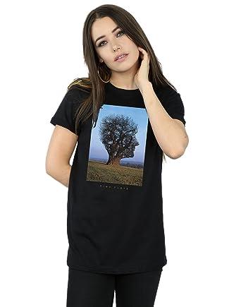 f9292f53 Pink Floyd Women's Tree Head Boyfriend Fit T-Shirt: Amazon.co.uk: Clothing