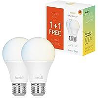 Hombli Smart gloeilamp, 1+1 gratis (CCT)