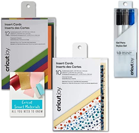 10 ct CreamSilver Brushed DIY Greeting Card Cricut Joy Insert Cards