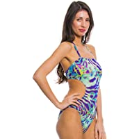 Kiniki Coral Tan Through Cut Out Swimsuit