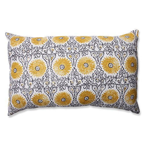 Pillow Perfect Yellow Rectangular Throw