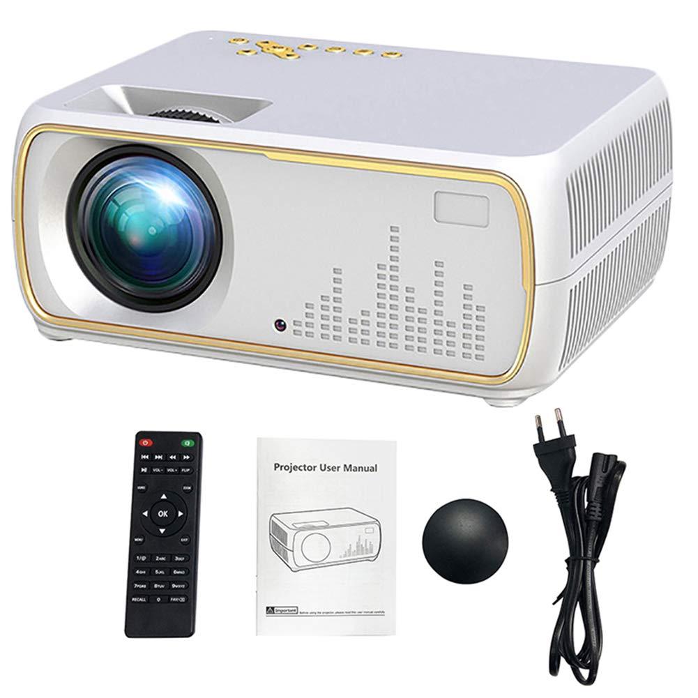 SEXTT Proyector, 2200 lúmenes HD Video proyector de Cine en casa ...