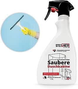Anti Cal Producto de limpieza Ducha Limpiador para cabinas de ...