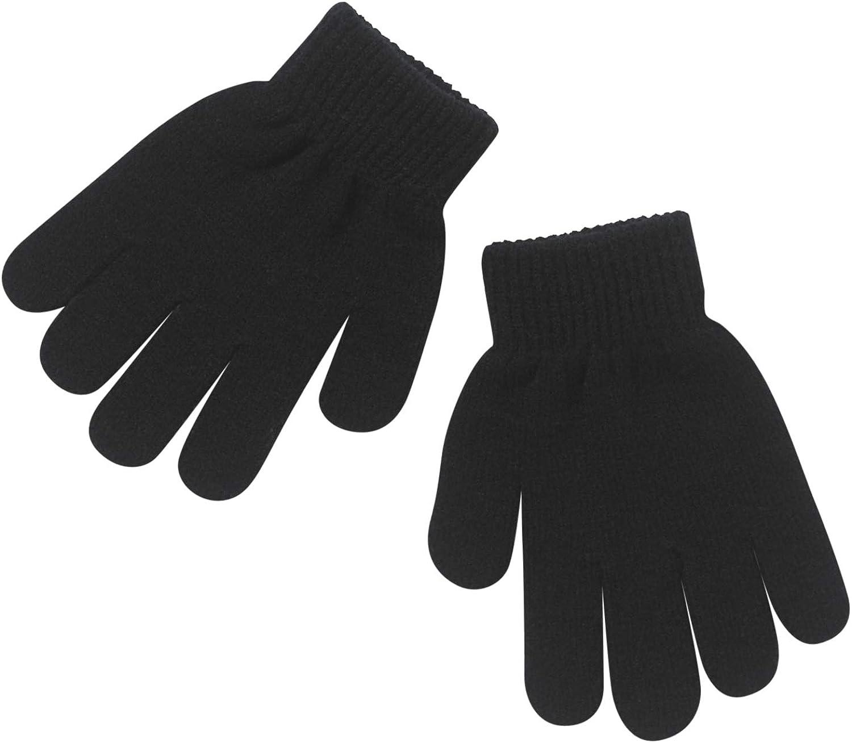 Back to School Boys Girls Hat Scarf Gloves Glow in The Dark Sets Singles