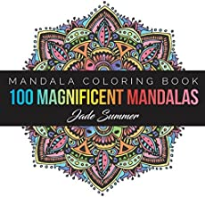 Mandalas At Midnight A Mandala Coloring Book Edition On