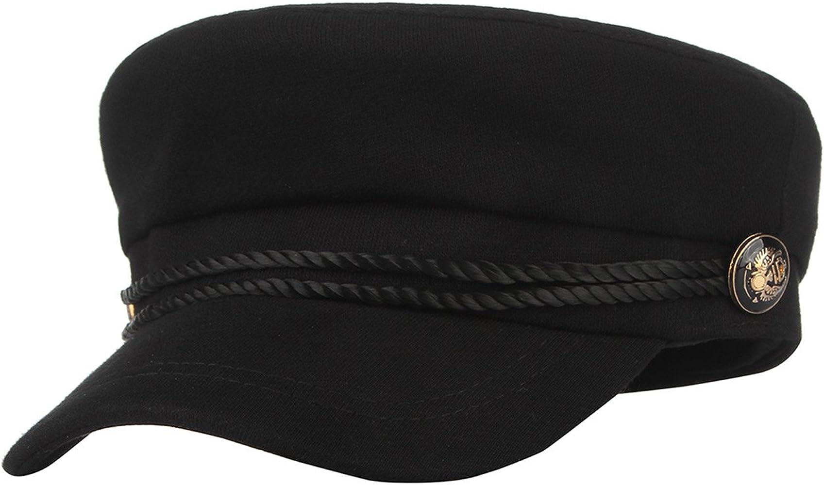 Sombrero Beret para Hombre Newsboy Flat Cap Flat Boy Baker