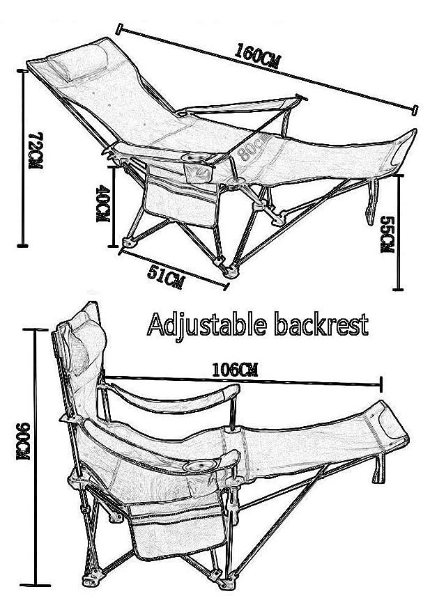 Amazon.com: YXX - Sillas de camuflaje ligeras, con bolsa de ...