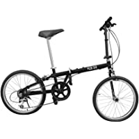 """Folding Bicycle 20"""" Steel Alloy"""