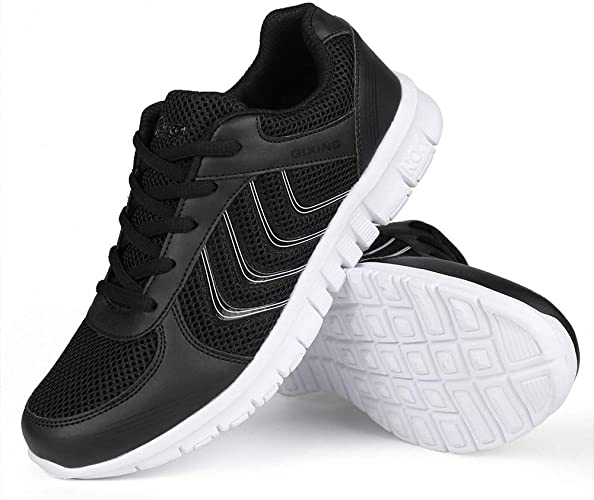 Beautiful Fashion Womens Fashion Mesh Athletic Running Sneakers Breathable Walking Shoes
