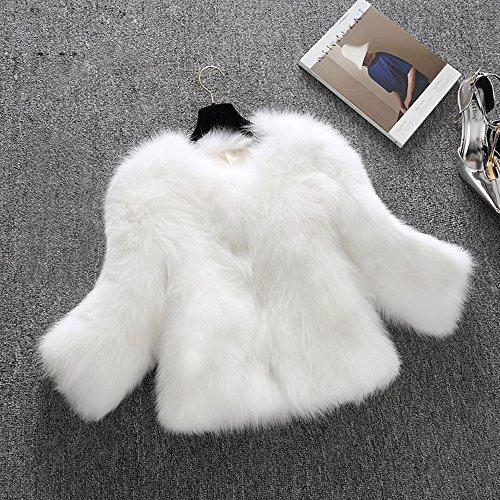 Wuayi Wuayi Manteau Femme Blanc Femme Blanc Wuayi Manteau Manteau S6IHUH