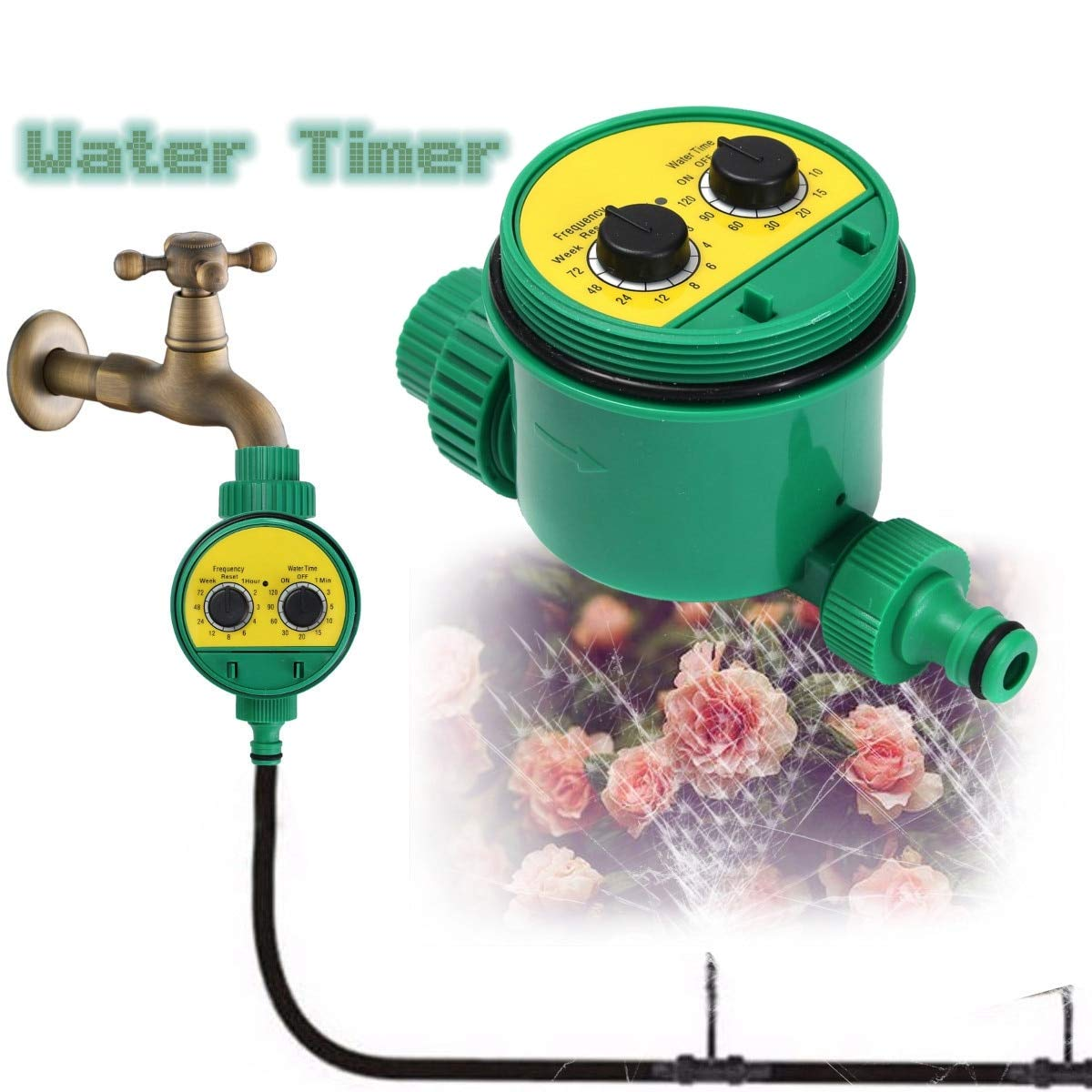 Amazon com: Water Timer Irrigation | Automatic Watering