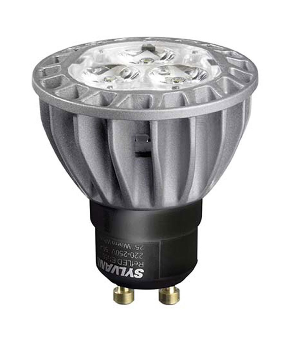 Sylvania - Bombilla LED (GU10, 7,5 W), color blanco: Amazon.es: Iluminación