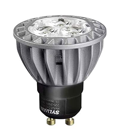 Sylvania - Bombilla LED (GU10, 7,5 W), color blanco