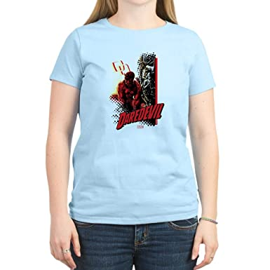 9a6d67b08a8 CafePress Marvel Knight Daredevil 4 Women s Light T Shirt Womens Cotton T- Shirt