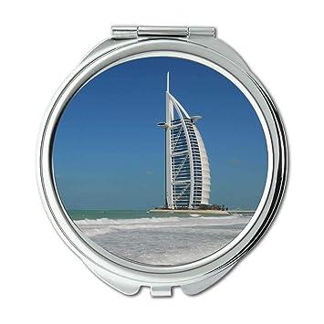 Amazon com : Mirror, Compact Mirror, beach burj al arab