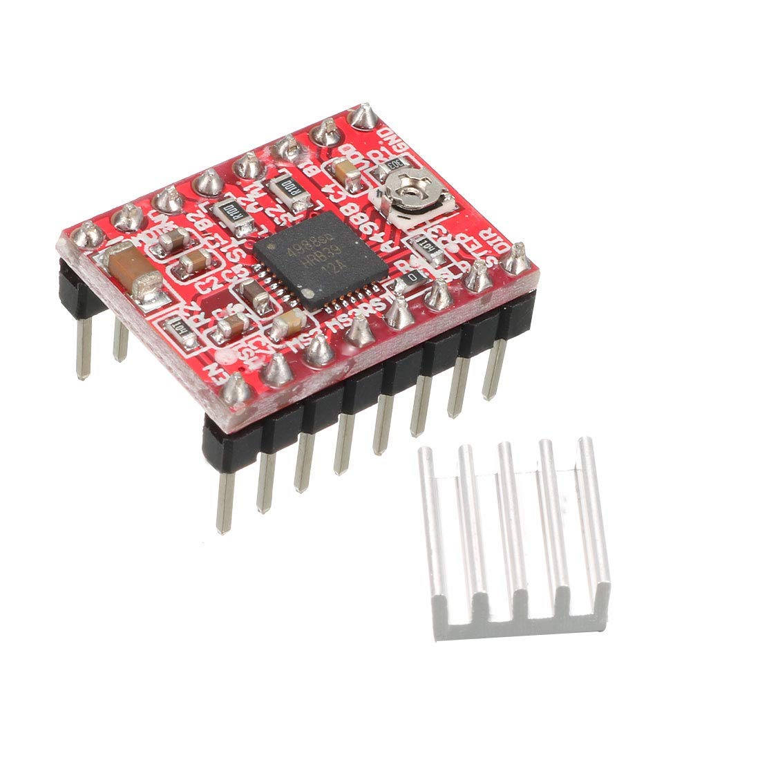 Amazon.com: ZCHXD A4988 - Módulo controlador de motor paso a ...