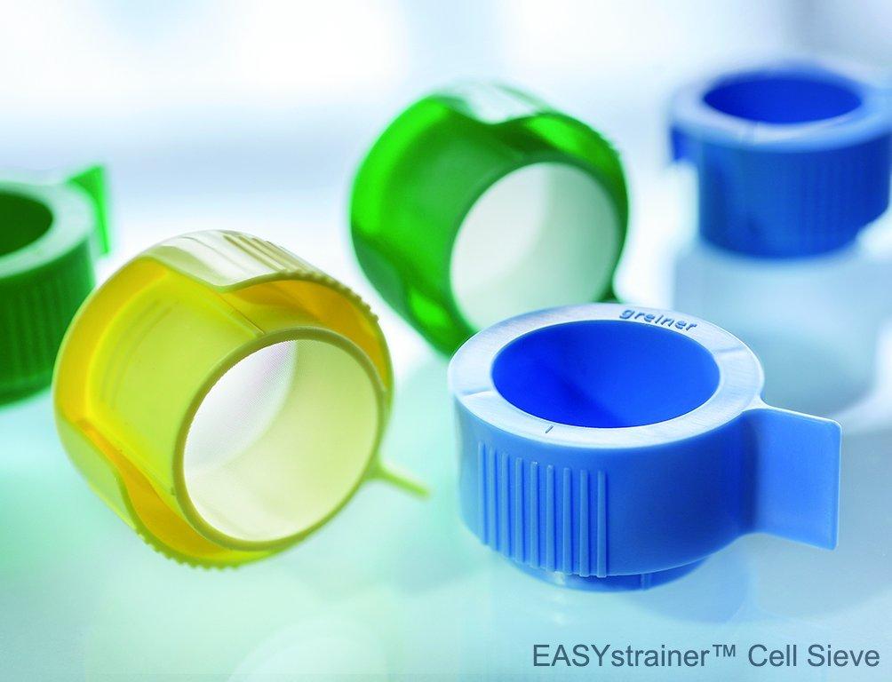Greiner Bio-One 542070 EASYstrainer Cell Strainer 70 /µm Pore Pack of 50 Sterile