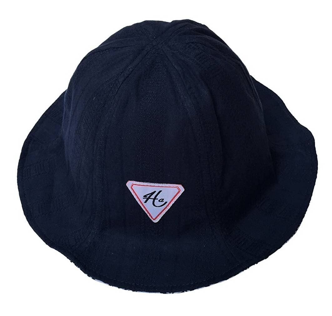 Jixin4you Unisex Outdoors Summer Reversible Bucket Sun Hat Cap H21