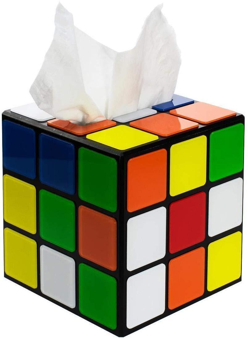 Caja de pañuelos Rubik