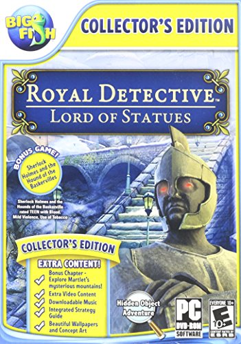 Edition Statue - Royal Detective: The Lord of Statues with Bonus Game: Sherlock Holmes: The Hound of the Baskervilles - Collectors Edition - PC