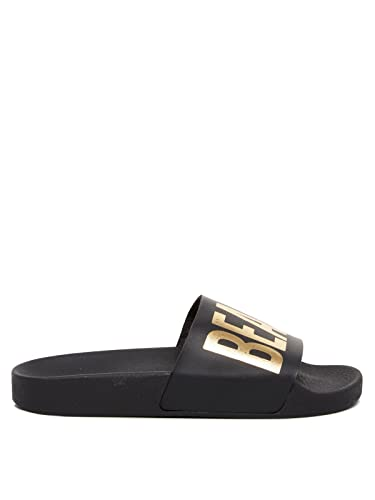 112e362e1d38f5 Thewhitebrand Women s Beach Please Slide Sandals Black 6
