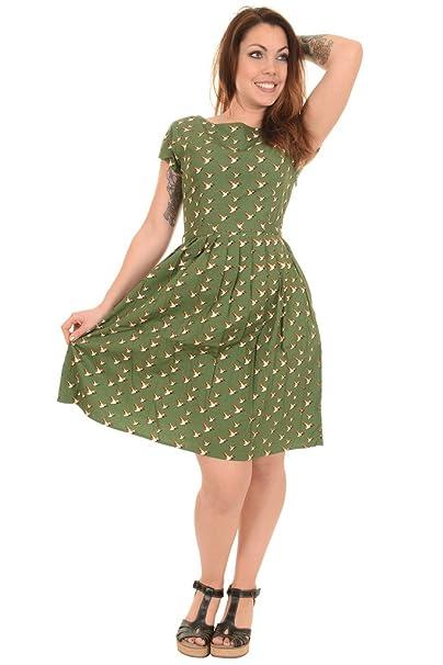 Run & Fly - Vestido - Animal Print - para mujer verde Ivy Verde 42