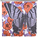 Thomas Paul Butterfly 72''x72'' Shower Curtain, Lavender