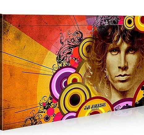 Bild auf Leinwand Jim Morrison 1K Leinwandbild Wandbild Poster