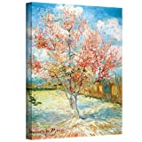 Art Wall The Iris by Vincent Van Gogh Gallery Wrapped Canvas, 18 by 24-Inch
