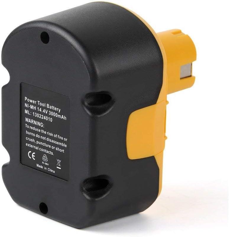 Ryobi 14.4V Battery 2Pack 3.0Ah Ni-MH Battery for Ryobi 130224010 130224011 130281002 1314702 1400144 1400655 1400656 1400671 4400011 Cordless Power Tools
