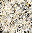 "Safe & Non-Toxic {Small Size, 0.3"" Inch} 10 Pound Bag of Gravel & Pebbles Decor for Freshwater & Saltwater Aquarium w/ Classic Natural Matte & Shiny Greek River Style [White, Gray, Black, Tan & Brown]"
